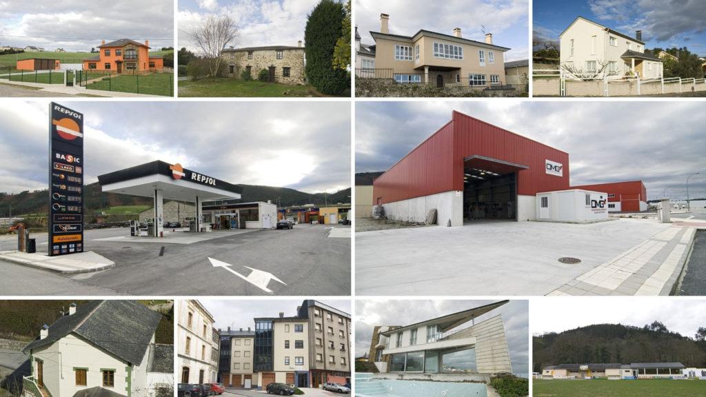 Dependiendo del material y estructura las construcciones se clasifican de varias formas 1920